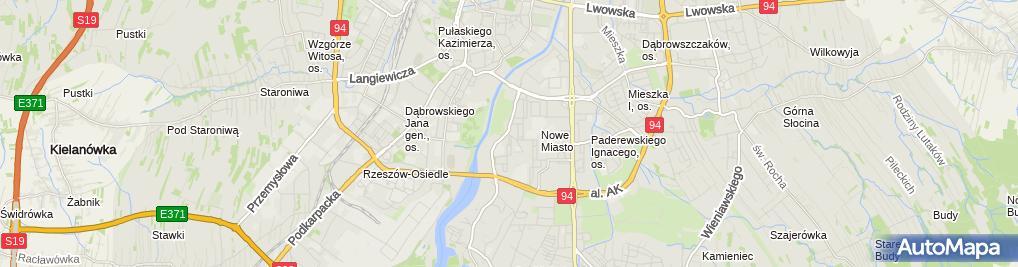 Zdjęcie satelitarne NZOZ Asklepios