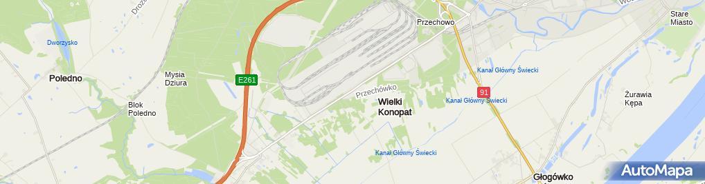 Zdjęcie satelitarne Corex Polska Sp. z o.o.