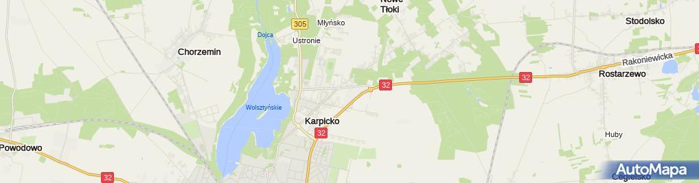 Zdjęcie satelitarne Gorgiel