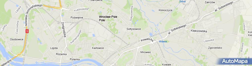 Zdjęcie satelitarne TOYA SA