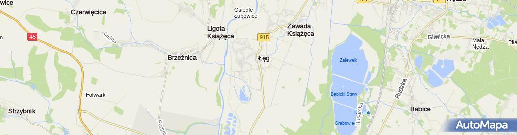 Zdjęcie satelitarne Zapal