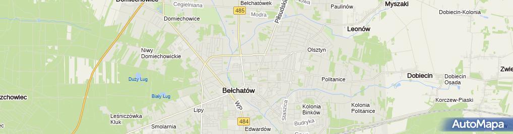 Zdjęcie satelitarne BCM