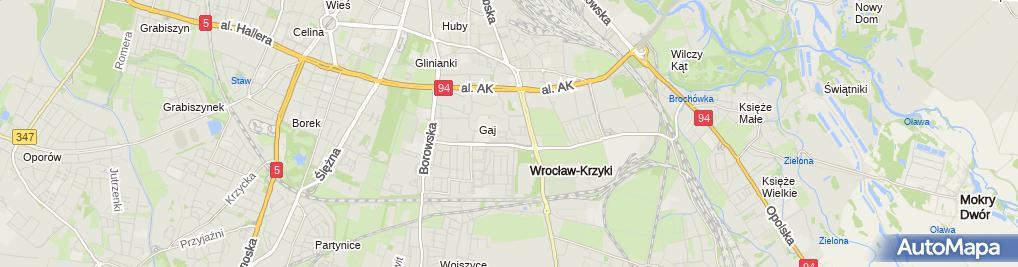 Zdjęcie satelitarne NZOZ Przychodnia-GAJ Spółka z o.o.