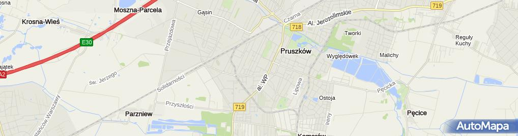 Zdjęcie satelitarne PRZYCHODNIA LEKARSKA