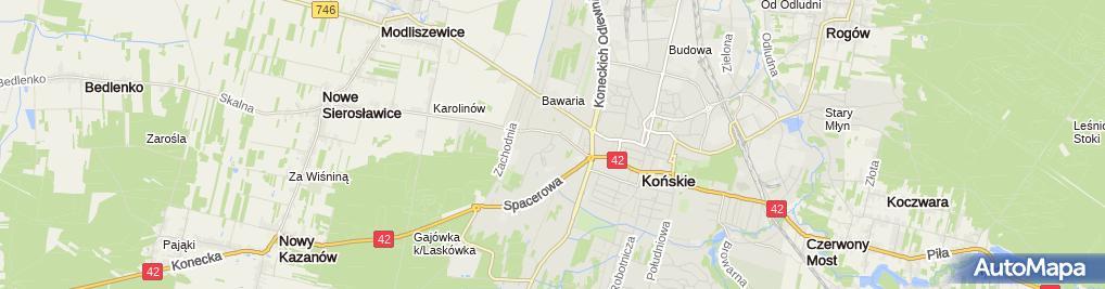 Zdjęcie satelitarne Społem