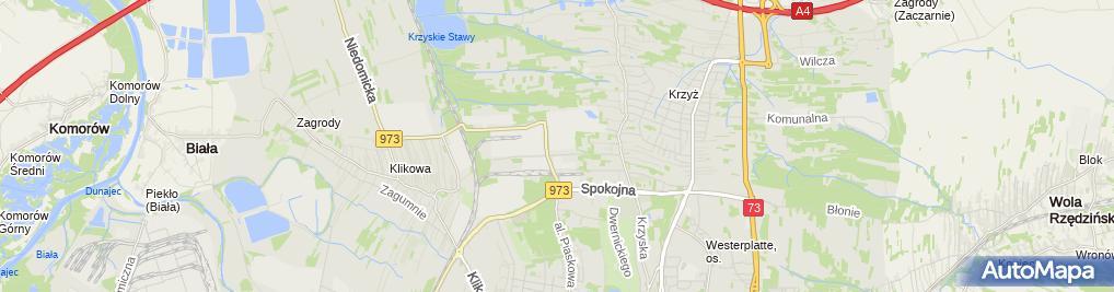 Zdjęcie satelitarne Raben Polska sp. z o.o. Oddział 2 w Tarnowie