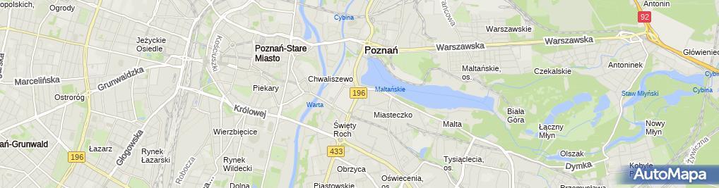Zdjęcie satelitarne Raiffeisen POLBANK