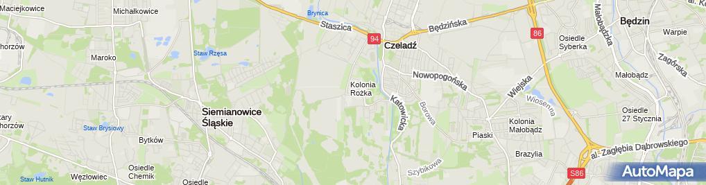 Zdjęcie satelitarne Akademia Sztuki Kulinarnej Anmark