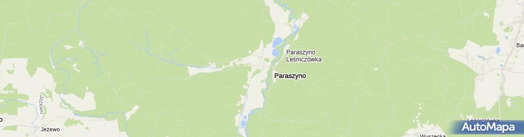 Zdjęcie satelitarne Dworek