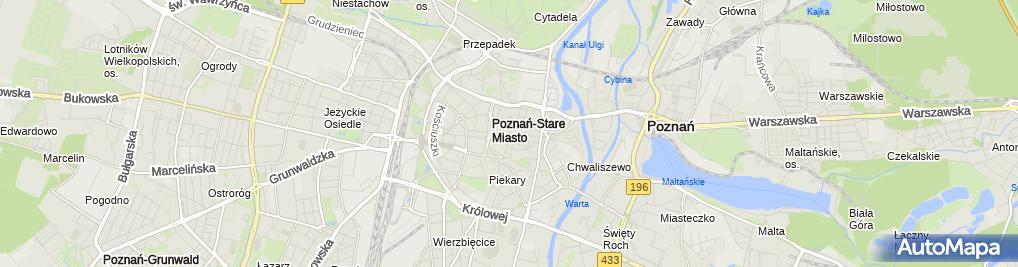 Zdjęcie satelitarne Fenix