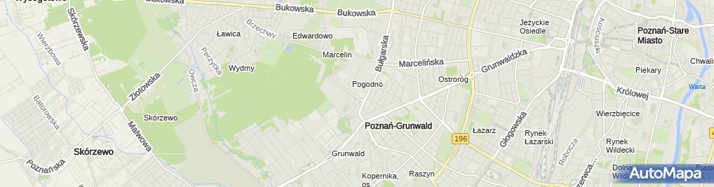Zdjęcie satelitarne Rowerowy