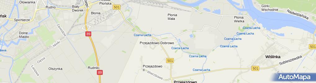 Zdjęcie satelitarne Trasa, Ścieżka Rowerowa
