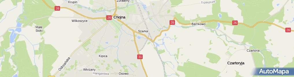 Zdjęcie satelitarne Różpol