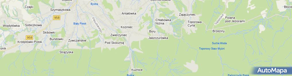 Zdjęcie satelitarne Kaplica sióstr Urszulanek