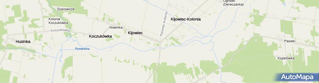 Zdjęcie satelitarne Kościół Rzymskokatolicki