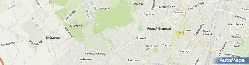 Zdjęcie satelitarne Sąd Okręgowy