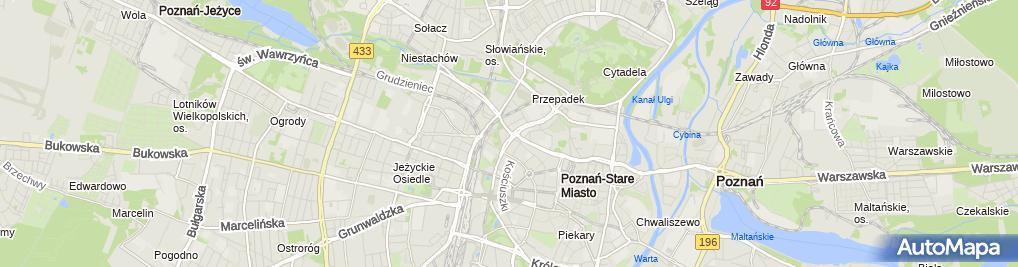 Zdjęcie satelitarne Wielkopolska Izba Lekarska