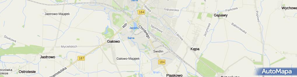 Zdjęcie satelitarne Powiatowa Stacja Sanitarno - Epidemiologiczna