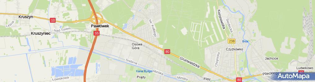 Zdjęcie satelitarne Botojan