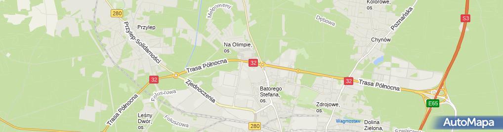 Zdjęcie satelitarne Anneberg