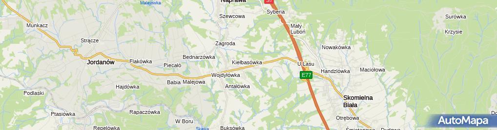 Zdjęcie satelitarne Tranzit