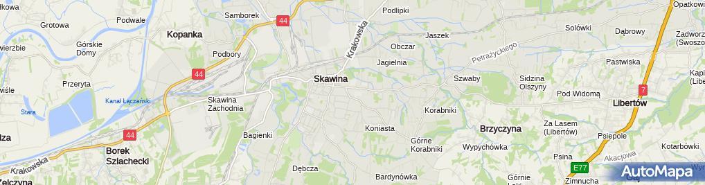 Zdjęcie satelitarne Starostwo Powiatowe Filia