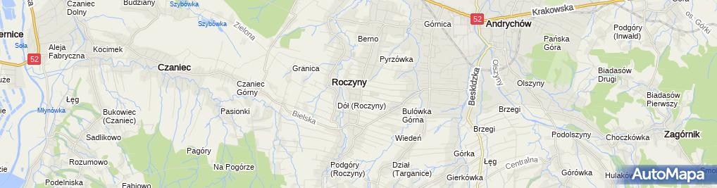 Zdjęcie satelitarne im. Mieszka I w ZSS