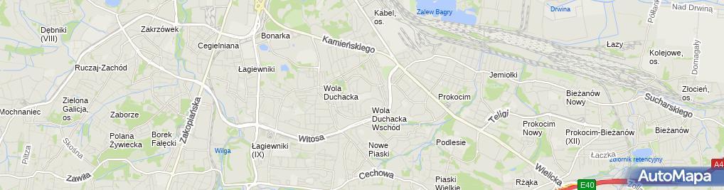 Zdjęcie satelitarne Zespół Szkół Ogólnokształcących Integracyjnych Nr 7