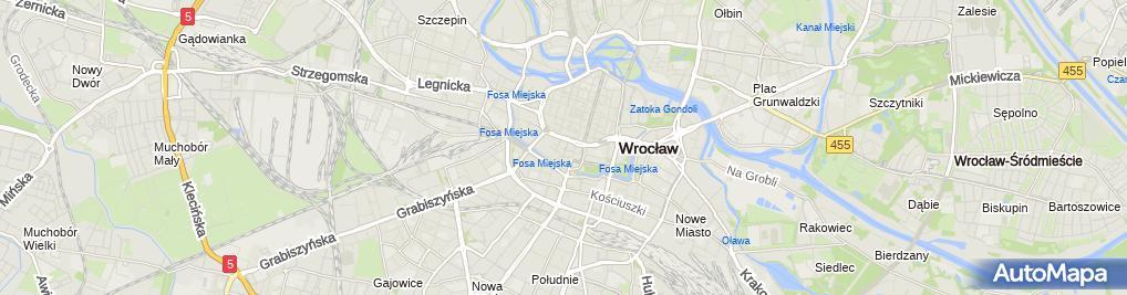 Zdjęcie satelitarne Zespół Szkół Sióstr Salezjanek im. Jana Pawła II