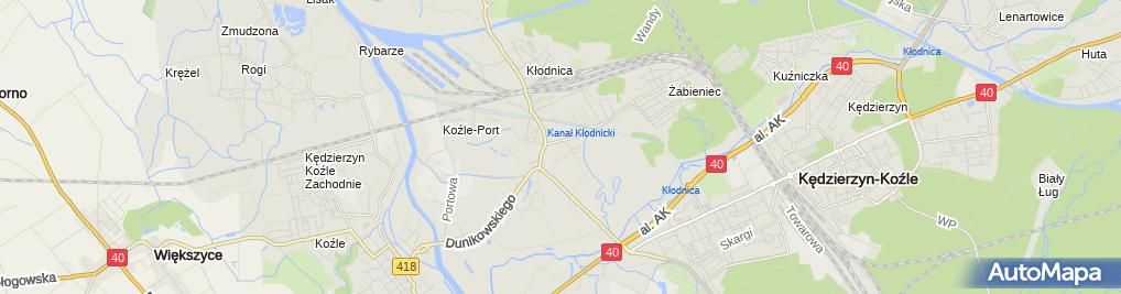 Zdjęcie satelitarne Zespół Szkół Specjalnych im. Jana Brzechwy