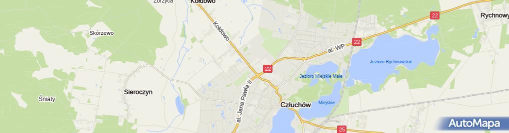Zdjęcie satelitarne Zespół Szkół Sportowych