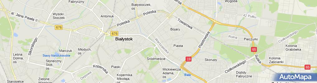 Zdjęcie satelitarne Szpital Położniczo-Ginekologiczny