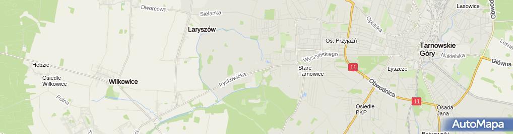Zdjęcie satelitarne Wielospecjalistyczny Szpital Powiatowy nr 3 im. dr B. Hagera