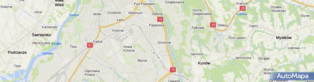 Zdjęcie satelitarne STW