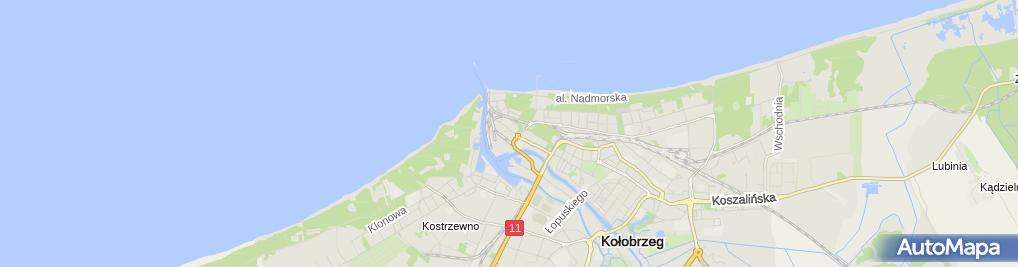 Zdjęcie satelitarne SMOC Port Morski