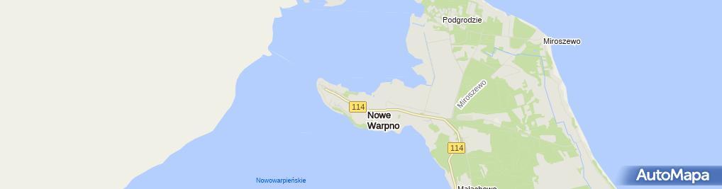 Zdjęcie satelitarne Bosmanat Portu