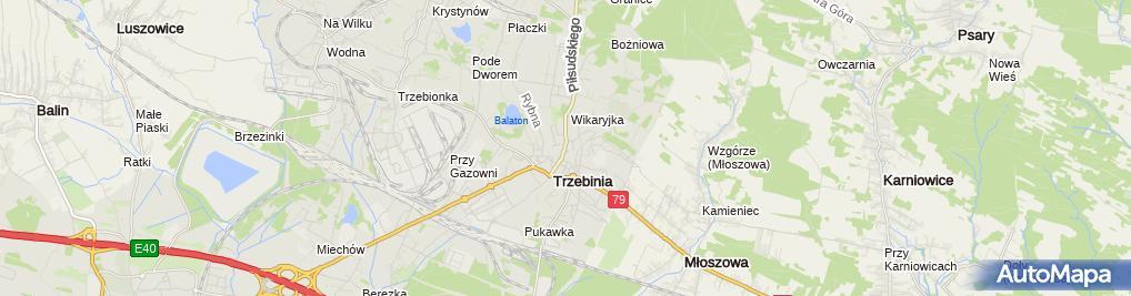 Zdjęcie satelitarne Urząd Miasta i Gminy