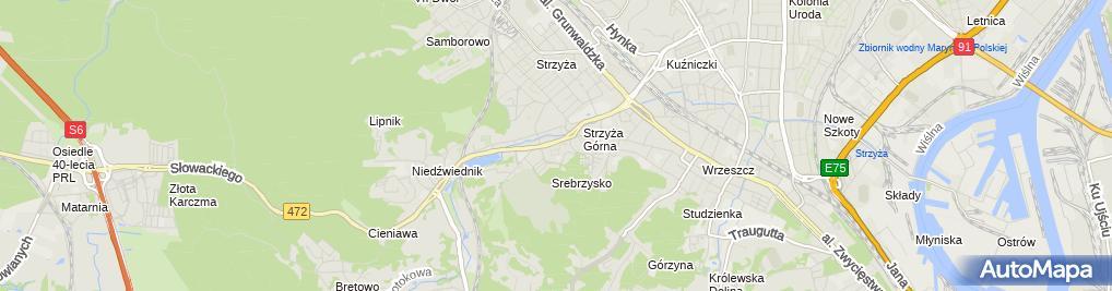 Zdjęcie satelitarne Urząd Miasta