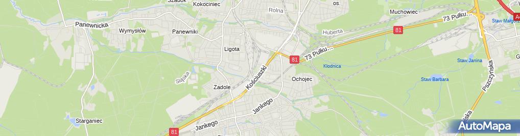 Zdjęcie satelitarne S PLUS Katowice JKK