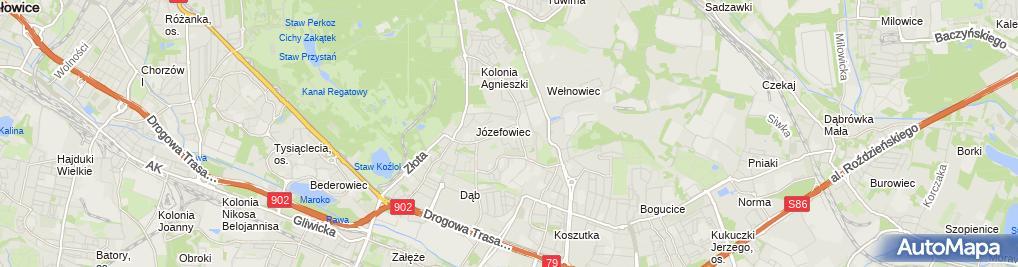 Zdjęcie satelitarne Lecznica dla Zwierzat dr M. Kostrzewski