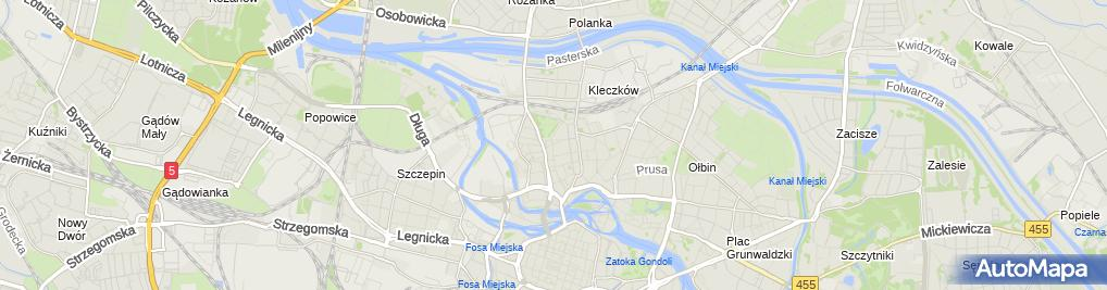 Zdjęcie satelitarne Weterynarz
