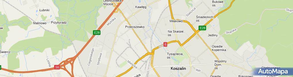 Zdjęcie satelitarne ENERGA