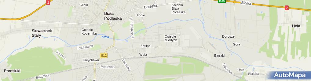 Zdjęcie satelitarne Zakład Stolarski - Sławomir Kaliszuk