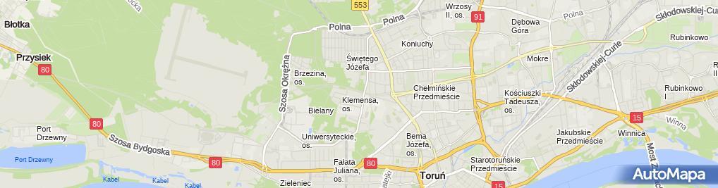 Zdjęcie satelitarne Redemptoryści Dom Zakonny