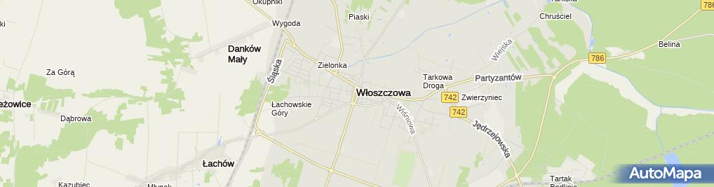 Zdjęcie satelitarne Zegarmistrz