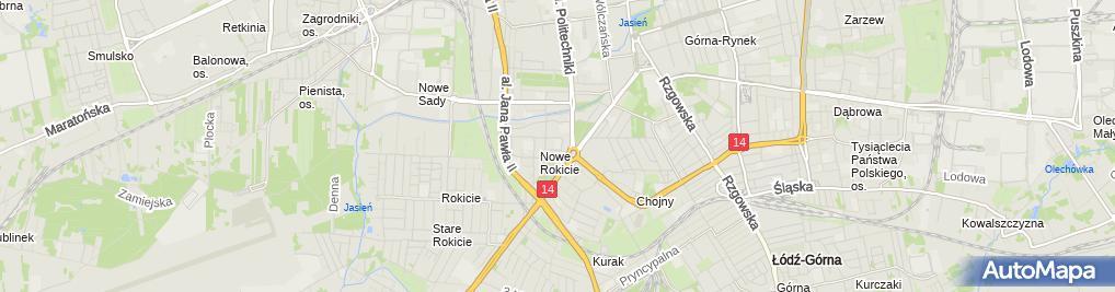 Zdjęcie satelitarne Żłobek nr 13