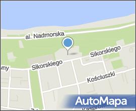 Kołobrzeg - panorama Widokówka