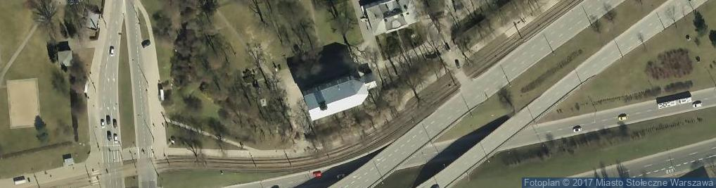 Zdjęcie satelitarne Kościół św. Wawrzyńca
