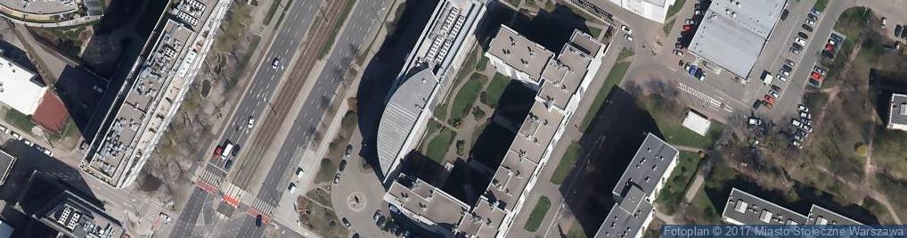 Zdjęcie satelitarne Prokom Software S.A. Warszawa