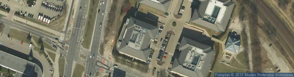 Zdjęcie satelitarne Wiśniowy Business Park